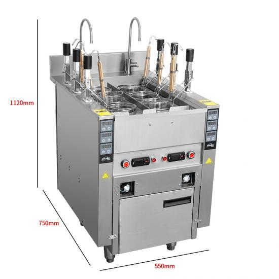 stainless steel electric pasta cooker factory