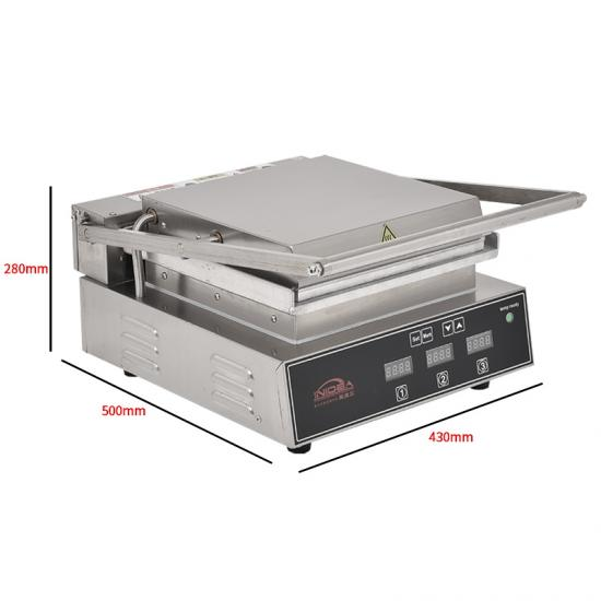 both side independent control double-sided griddle