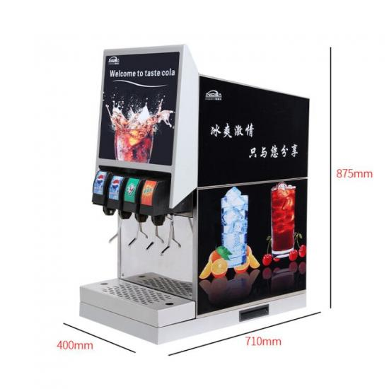 customized soda dispensing fountain machine