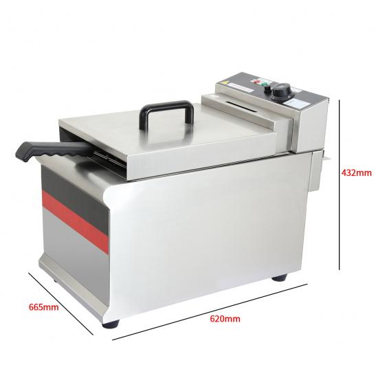 Restaurant countertop electric deep fryer manufacturer